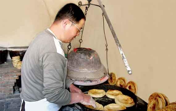 吊炉小烧饼