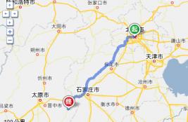 自驾车旅游路线图--北京出发